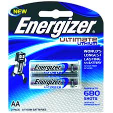 Energizer Lithium AA Card 2