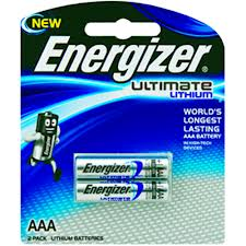 Energizer Lithium AAA Card 2