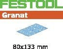 FESTOOL abrasive 50 pack, P60 grit - 80 x 133 mm
