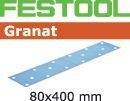 FESTOOL abrasive 50 pack, P80 grit - 80 x 400 mm
