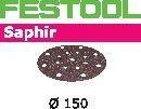 FESTOOL abrasive 25 pack, P36 grit - Dia. 150 mm