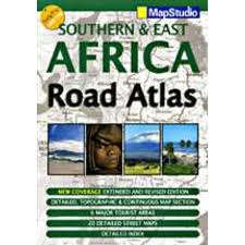 Mapstudio Southern & East Africa Road Map Atlas