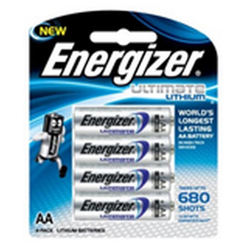 Energizer Energizer Ultimate Lithium: Aa - 4 Pack (Moq6)